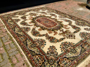Beautiful wool carpet. Room size. Bought in Turkey Istanbul.