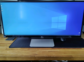 "LG 34"" IPS Ultra-Wide 21:9 1440p QHD Monitor 34UM95-P Thunderbolt 2"