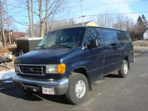 2006 FORD E350 SUPER DUTY EXTENDED VAN