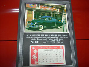1990 calendar Pat and Mike's Oshawa