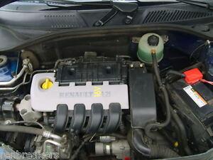 renault clio mk2 2001 2006 1 2 16v d4f 712 engine low miles 3 months warranty. Black Bedroom Furniture Sets. Home Design Ideas