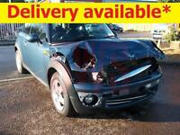 2009 Mini Cooper 1.6 DAMAGED REPAIRABLE SALVAGE