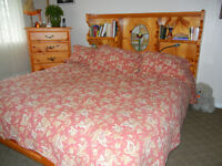 custom, king size bed