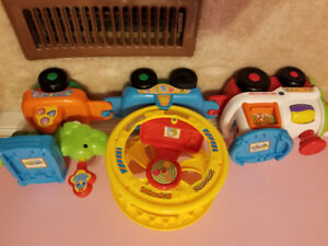 Vtech Roll and Spin Pet Train for sale
