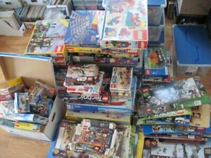 Lego Immense lot de boite vides Vintage System star Wars City..