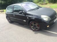 2004 Renault Clio sport 2.0 16v 3 door # half leather # xenons # low mileage #12 months mot