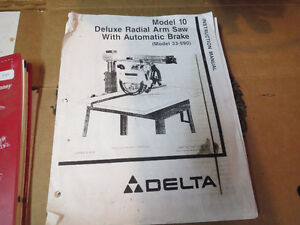 Deluxe Radial Arm Saw