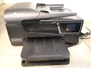 Hp officejet 6600 all-in-one printer