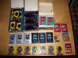 Various Collectible Cards From 1958-1992 (packs & boxes)