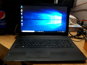 HP 255 G5 AMD A6-7310 laptop in perfect condition