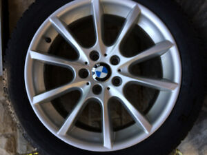 BMW Alloy rims with Dunlop tires 245/45-18