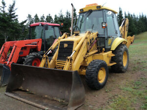 1996 JCB Backhoe Model 214