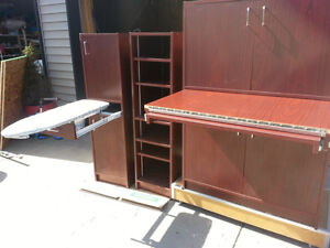 3 piece work center/furniture for crafters or students
