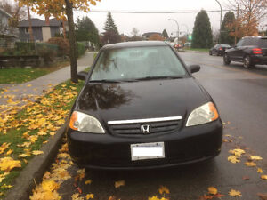 Well maintained and tidy Honda Civic 2001