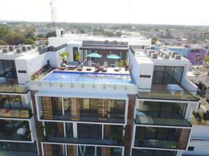 BRAND NEW LUXURY 1 BED 1 BATH PH SUITE IN PLAYA DEL CARMEN, MEX.