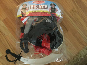 Pirate outfit....3-6 year old