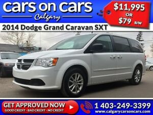 2014 Dodge Grand Caravan SXT $0 DOWN, $79 B/W! APPLY NOW!