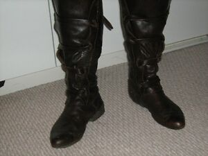 Jedi/ space costume/LARP leather boots