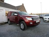 2012 (12) Ford Ranger XLT Double Cab 4WD 2.2 TDCi ( 150 bhp )