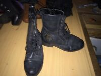 Old style boots