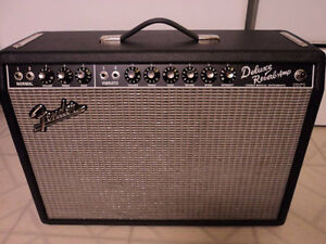 '65 Reissue Fender Deluxe Reverb...upgraded!  sale or tradesss!!