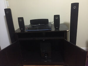 LG Blu-ray home theatre system.