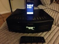 Pure avanti flow with iPod touch and remote