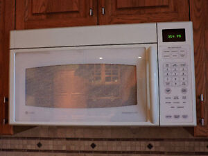 GE Profile over the range microwave/exhaust fan for Sale!