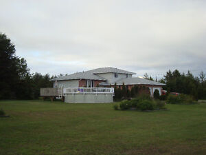 OPEN HOUSE SUNDAY 2-4pm!  5 Acres in Hanmer! - $414,900