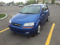 2006 Chevy aveo only 92000km AUTO STARTER