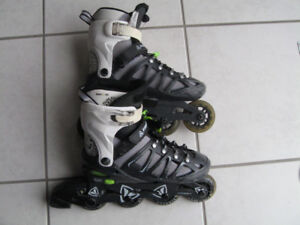 Firefly Adjustable Roller Blades Size 2-4.5