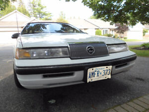 PRICE REDUCED 1989 Mercury Cougar LS