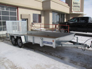Sure-Trac 16' TANDEM AXLE UTILITY TRAILER/ LEASE, FINANCE, RENT