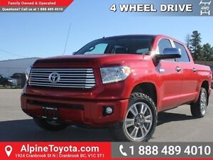 2014 Toyota Tundra PLATINUM  Tow Pkg - Heated Seats - Bed Liner