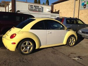 2001 Volkswagen beetle turbo LOW KM's FULL load