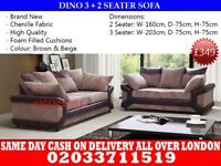 Brand New Diano 3 nd 2 seater sofa Newton Grove