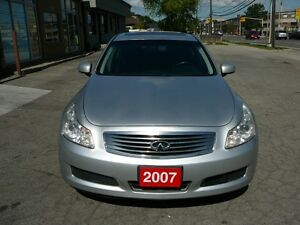 2007 Infiniti G35x Tech package Sedan