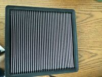 K&n air filter for 5.0L F150