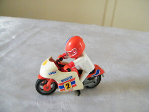 Playmobil moto de course Vintage
