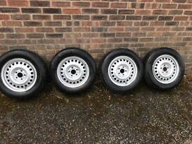 Ford Transit Connect wheels with tyres