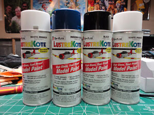 RC LusterKote Spray Paint