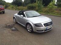 Audi TT convertible- FSH- 12 months MOT- Just had brand new turbo