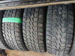 2 or 3 winter quest 235 65  18 Four  245 60 18 all season tires