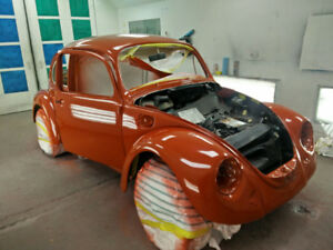 1975 Cherry Red VW Beetle Classic - Project Car