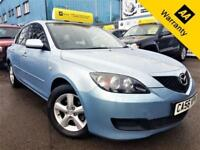 2007 MAZDA 3 1.6 TS 105 BHP! P/X WELCOME+2 F/KEEPERS+LOW MILES+AIR-CONDITIONING!
