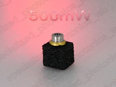 500mw 0.5 Watt 808nm To-5 9mm Infrared Laser Diode 2pin Free Shipping