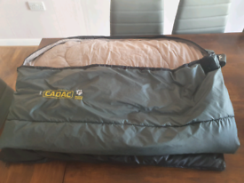 2 adult cadac sleeping bags in used condition