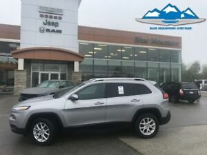 2017 Jeep Cherokee North  ACCIDENT FREE LOCAL TRADE!!!