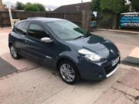 2012 RENAULT CLIO DYNAMIQUE (TOM TOM) 1.2 16v PETROL, MANUAL, ONLY 47,000 MILES