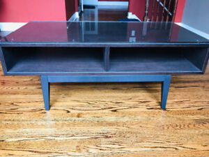 Beautiful Tv stand with Glass Top